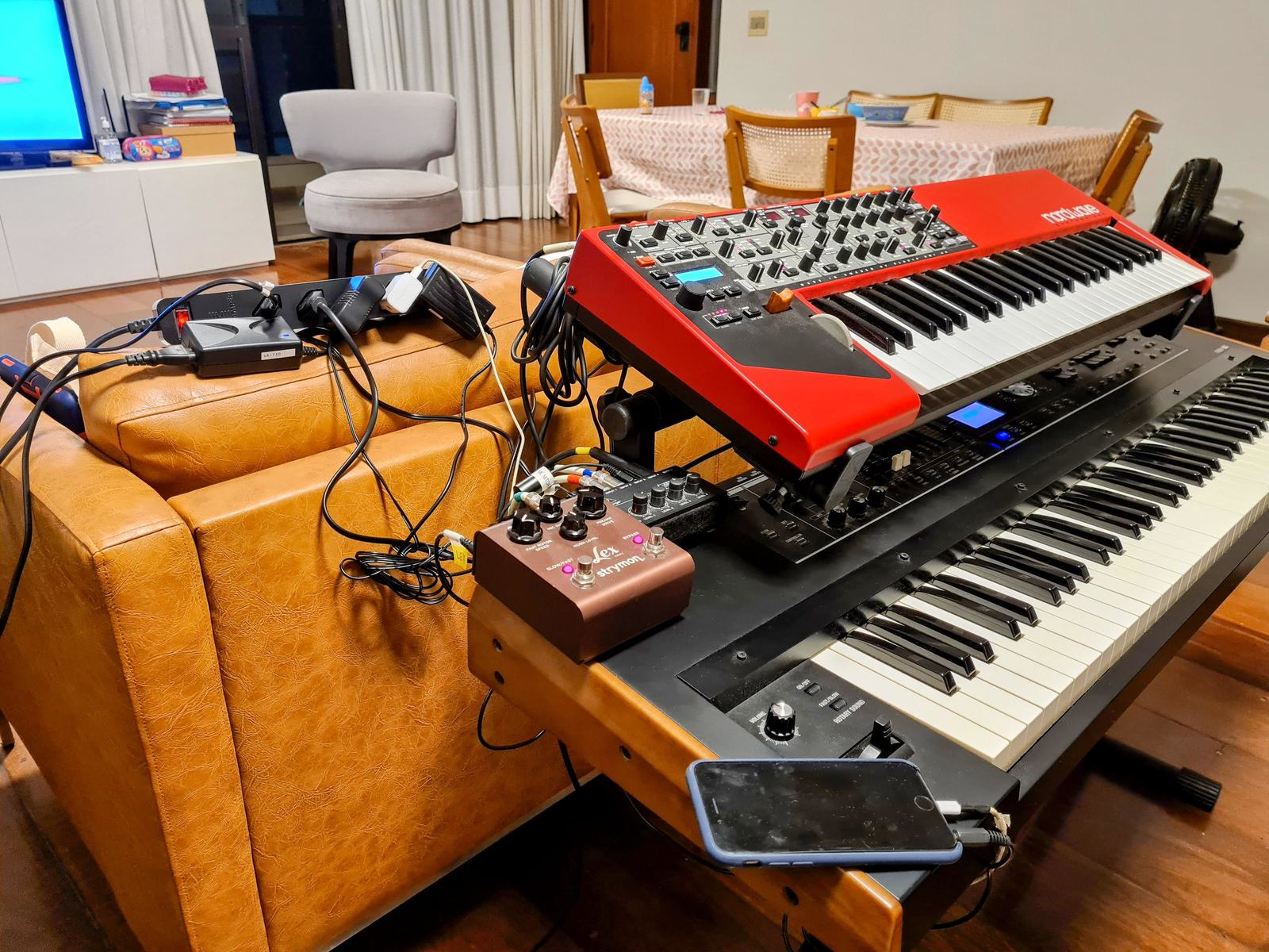 Photo of Clavia Nord Wave and more gear