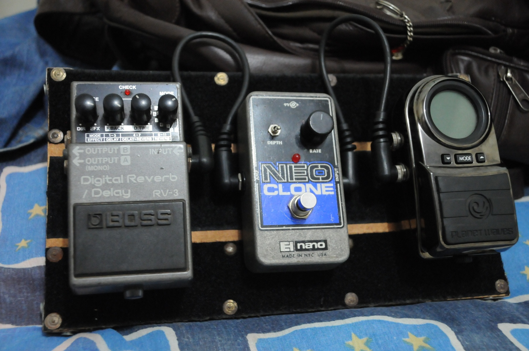 Photo of Boss RV-3 Digital Reverb/Delay and more gear