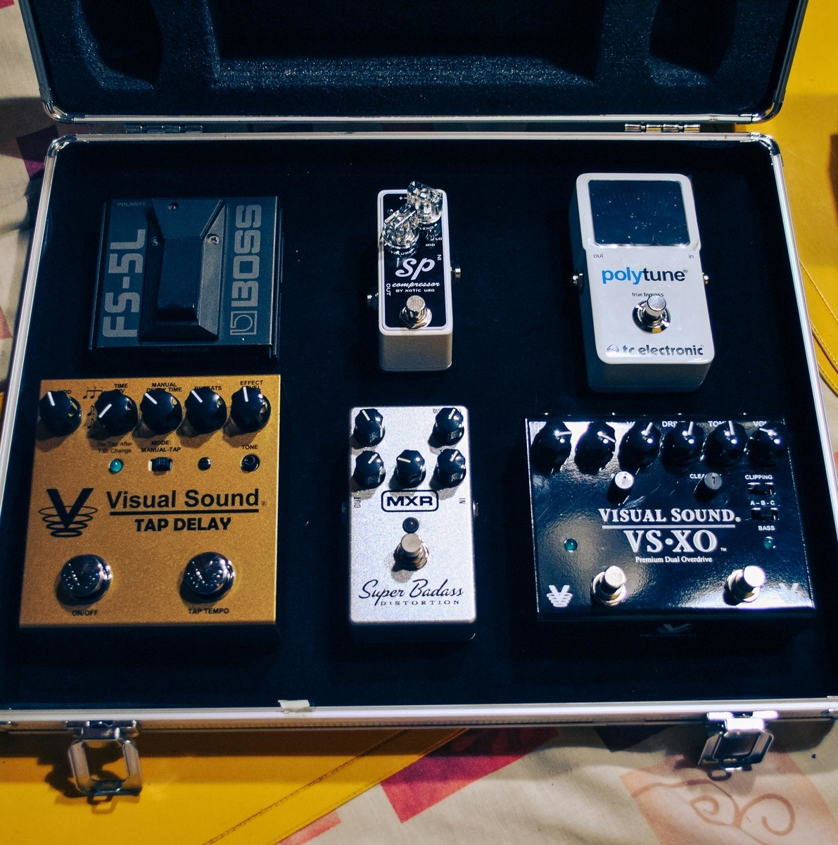 Photo of Xotic Effects SP Compressor Pedal and more gear