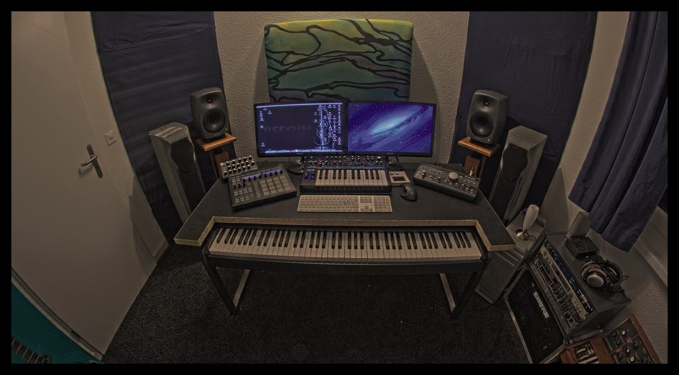 Photo of Akai Professional MPK88 Keyboard and USB MIDI Controller and more gear