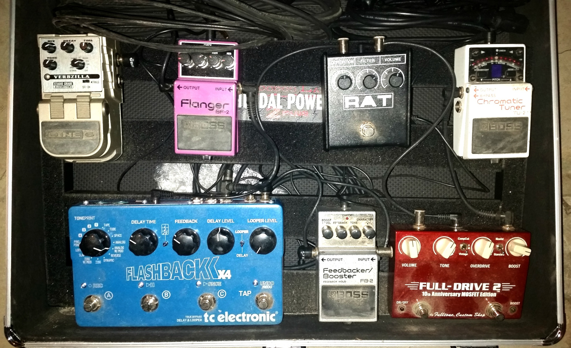 Large pedalboard  edit