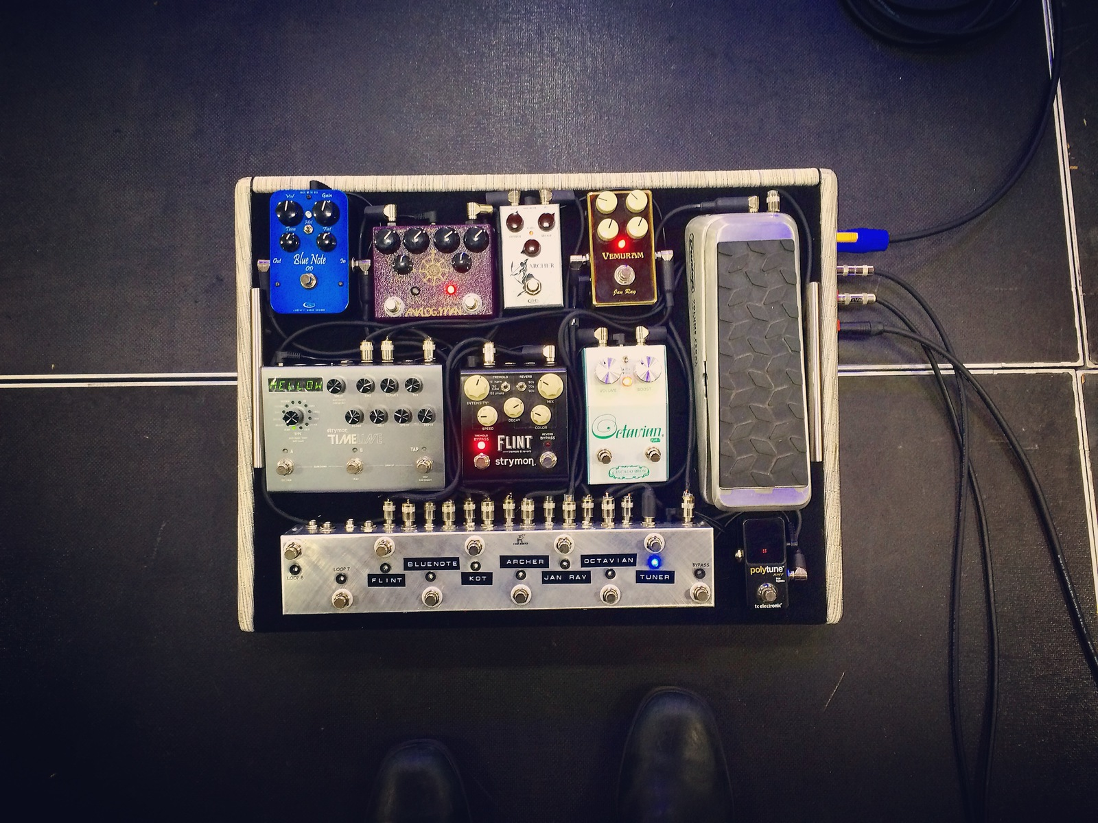 Photo of Rockett Pedals Archer and more gear