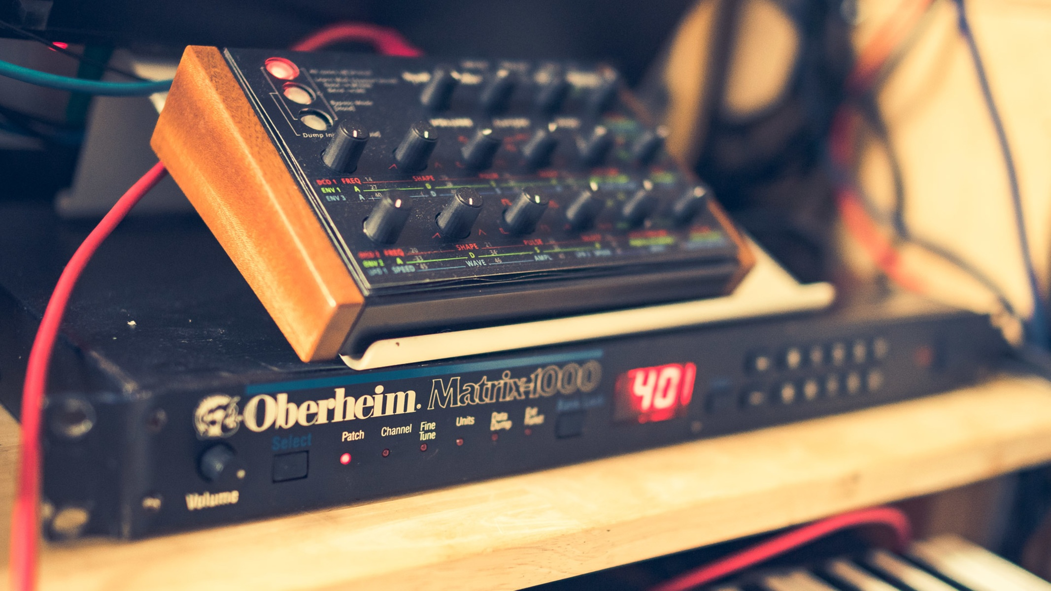 Photo of Oberheim Matrix 1000