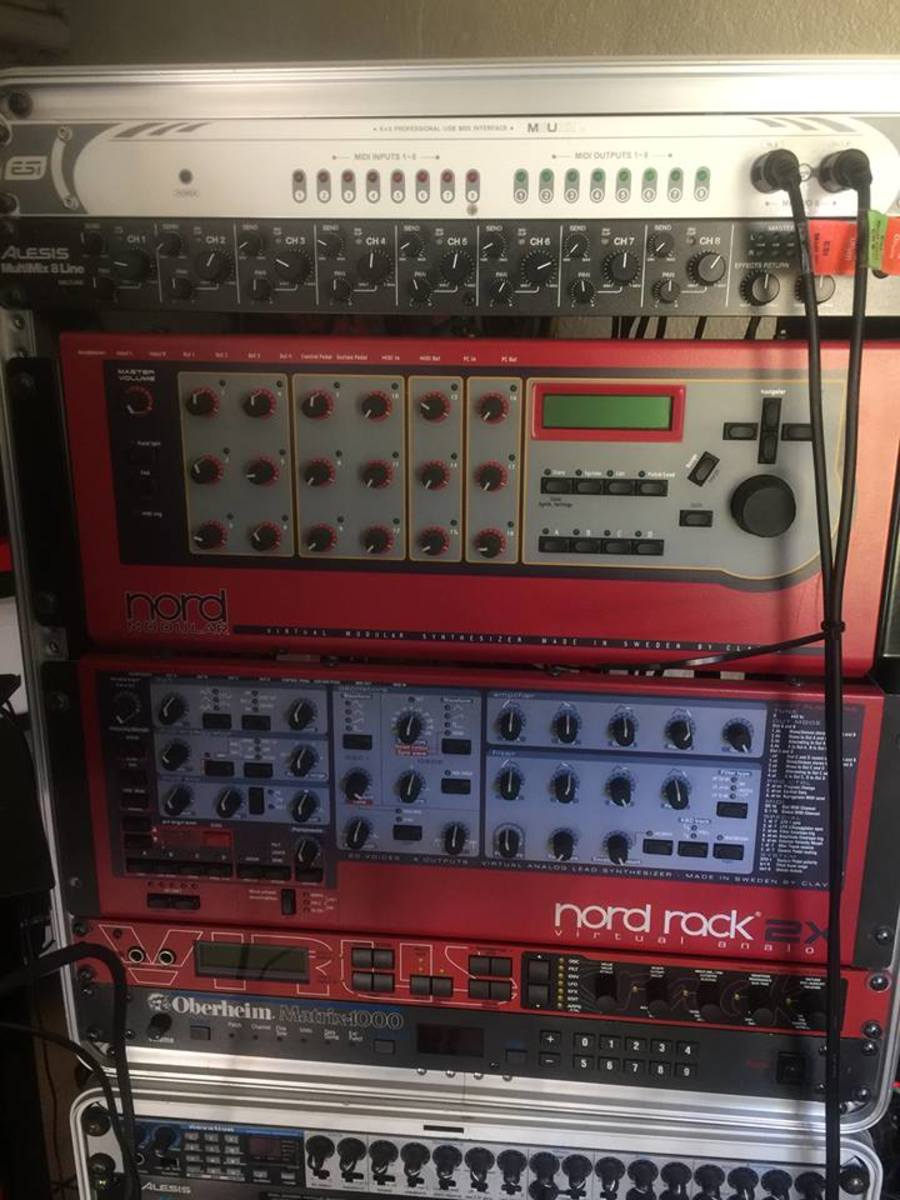 Photo of Oberheim Matrix 1000 and more gear