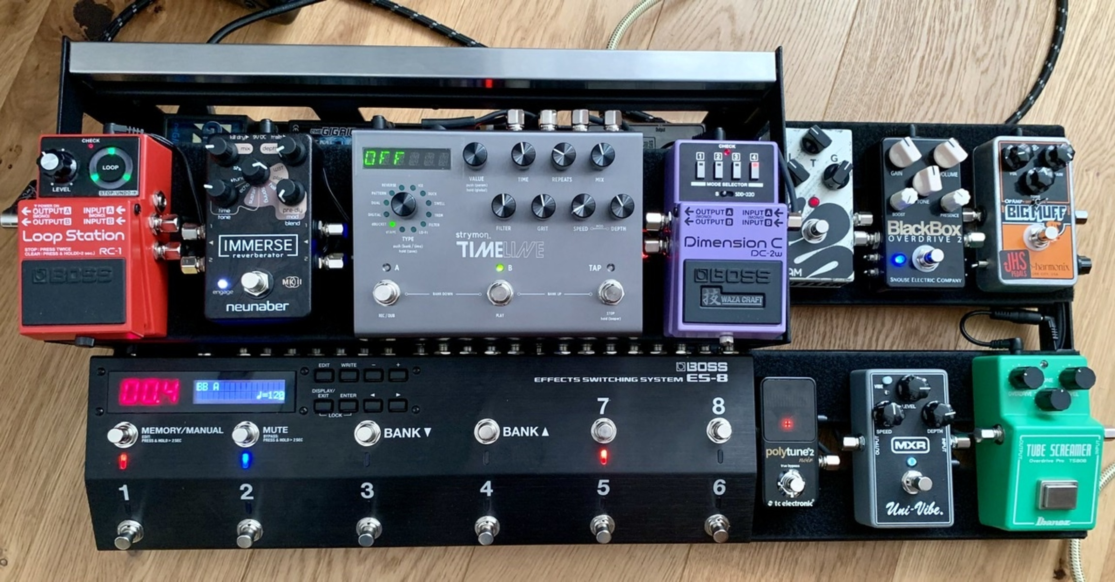 Photo of MXR Uni-Vibe and more gear