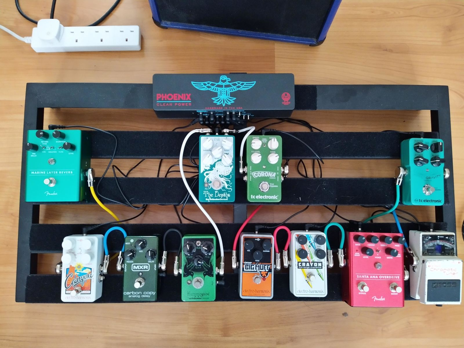 Photo of EarthQuaker Devices Hummingbird and more gear