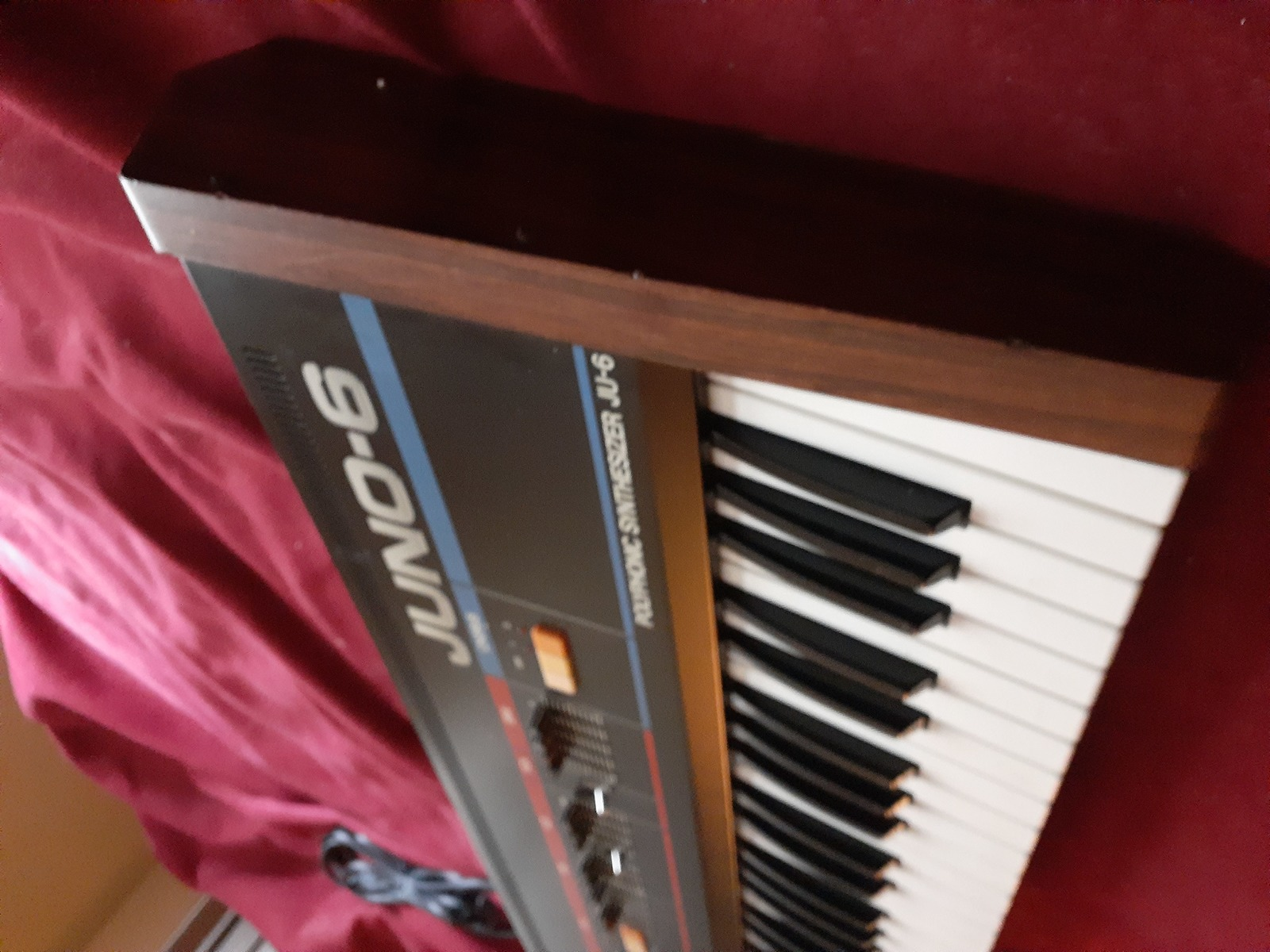 jimmarchi1's music gear photo containing Roland Juno-6