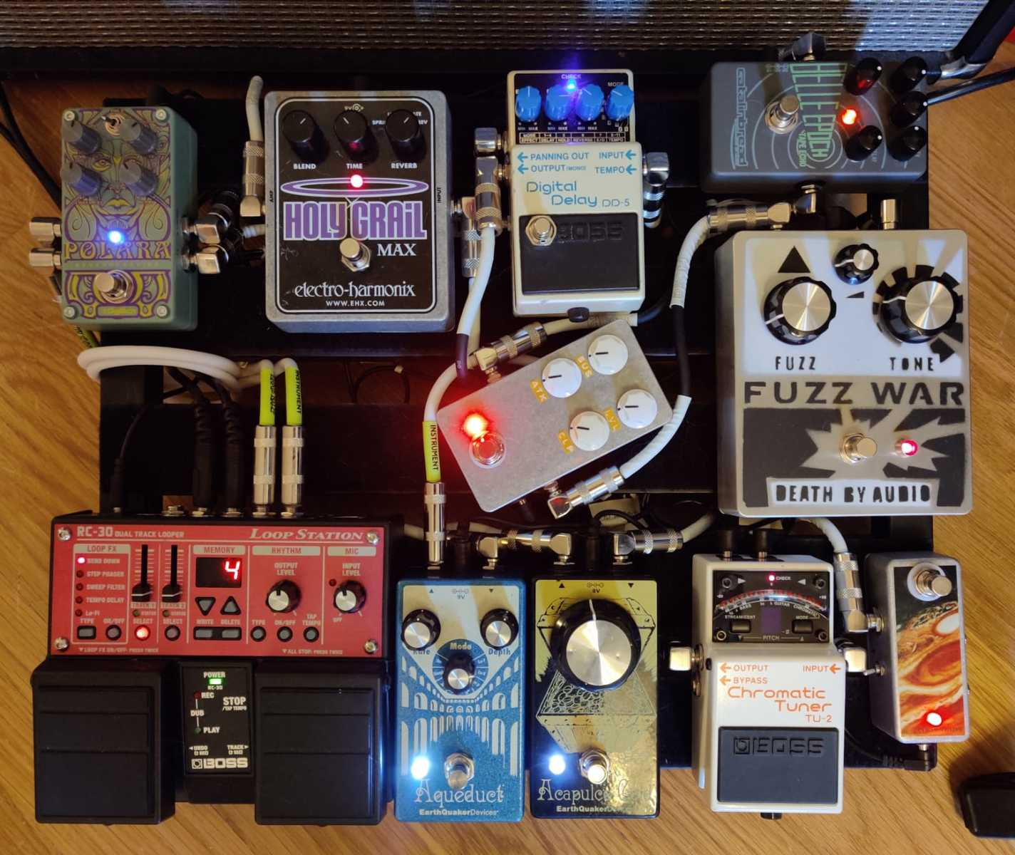 Photo of EarthQuaker Devices Acapulco Gold and more gear