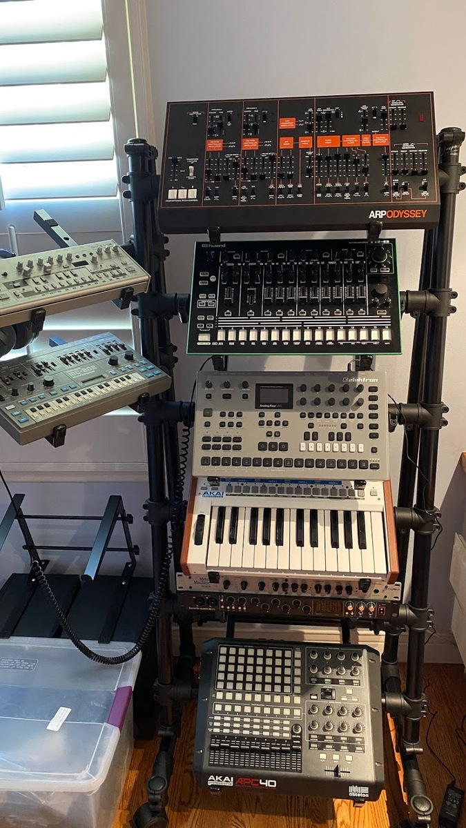 Photo of Roland Boutique TB-03 and more gear