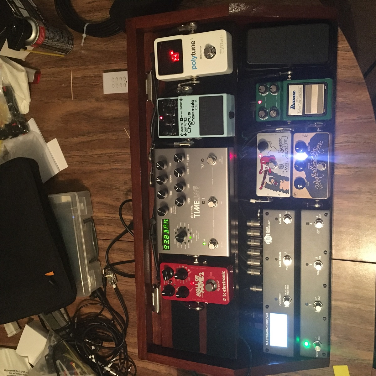 Photo of Ibanez TS9DX Turbo Tube Screamer and more gear