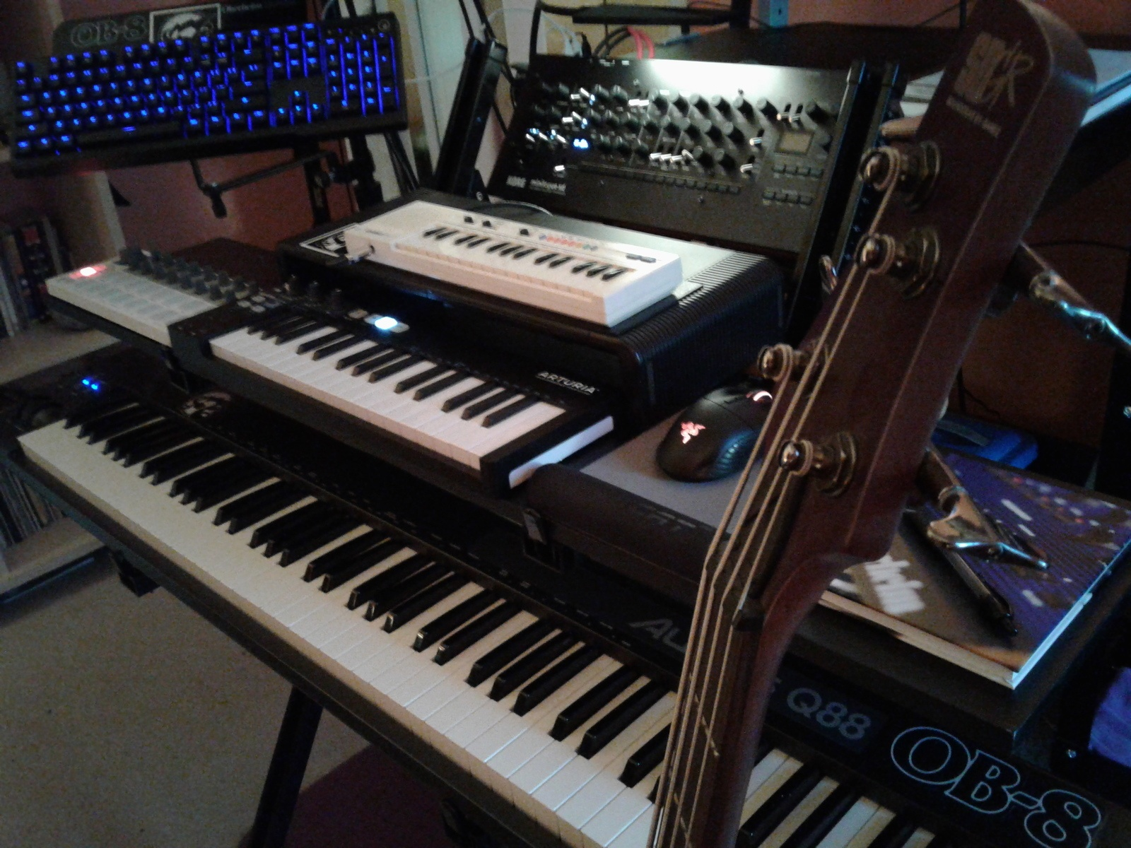 Photo of Korg Minilogue XD and more gear