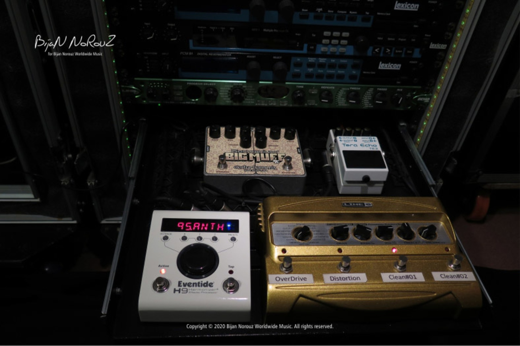 Photo of Line 6 DM4 Distortion Modeler and more gear