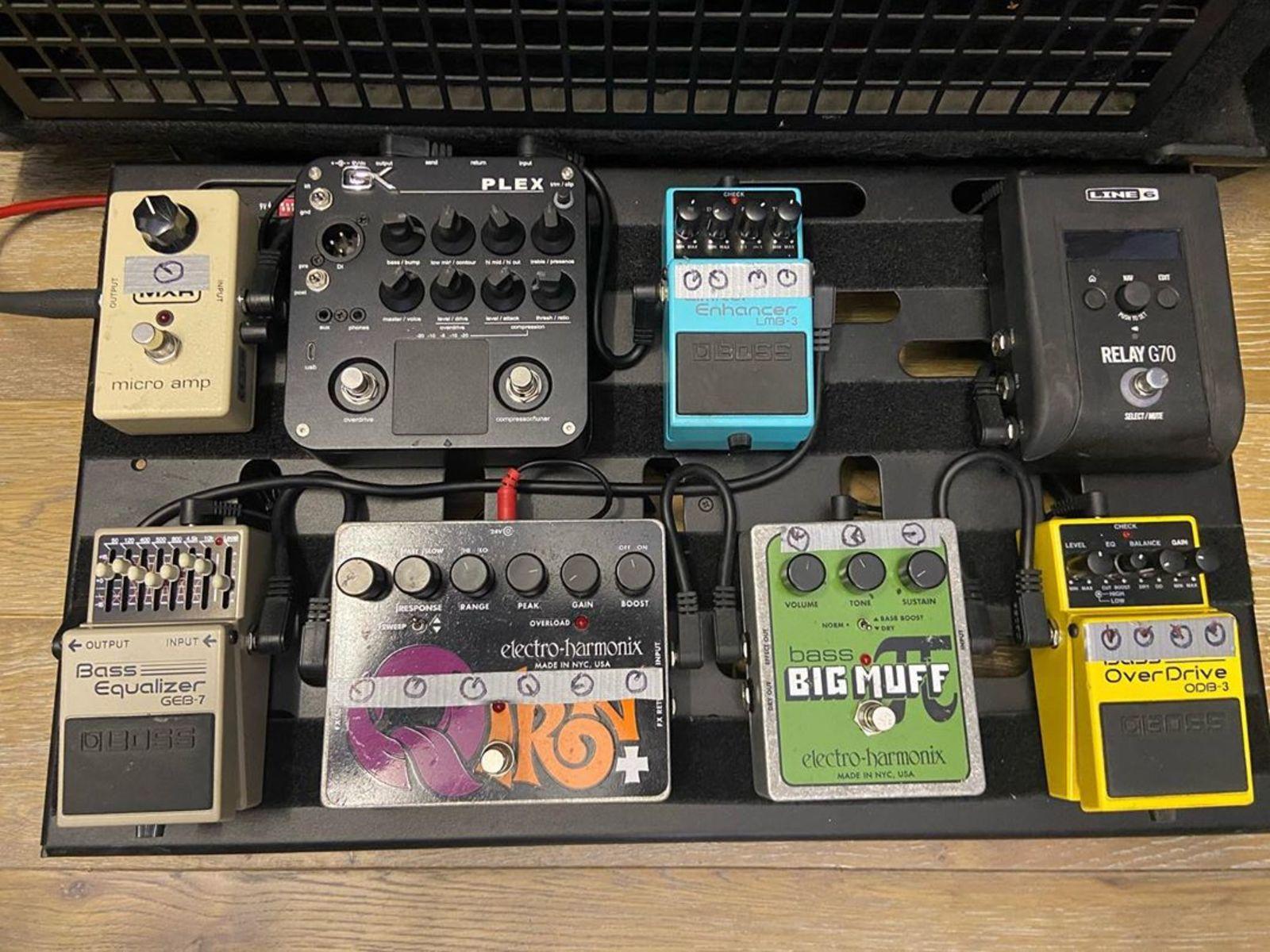 Photo of Electro-Harmonix Q-Tron Plus and more gear