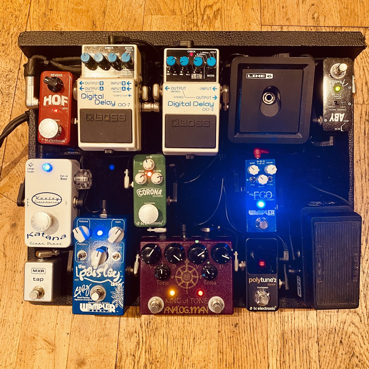 Photo of Analog Man King of Tone Overdrive and more gear