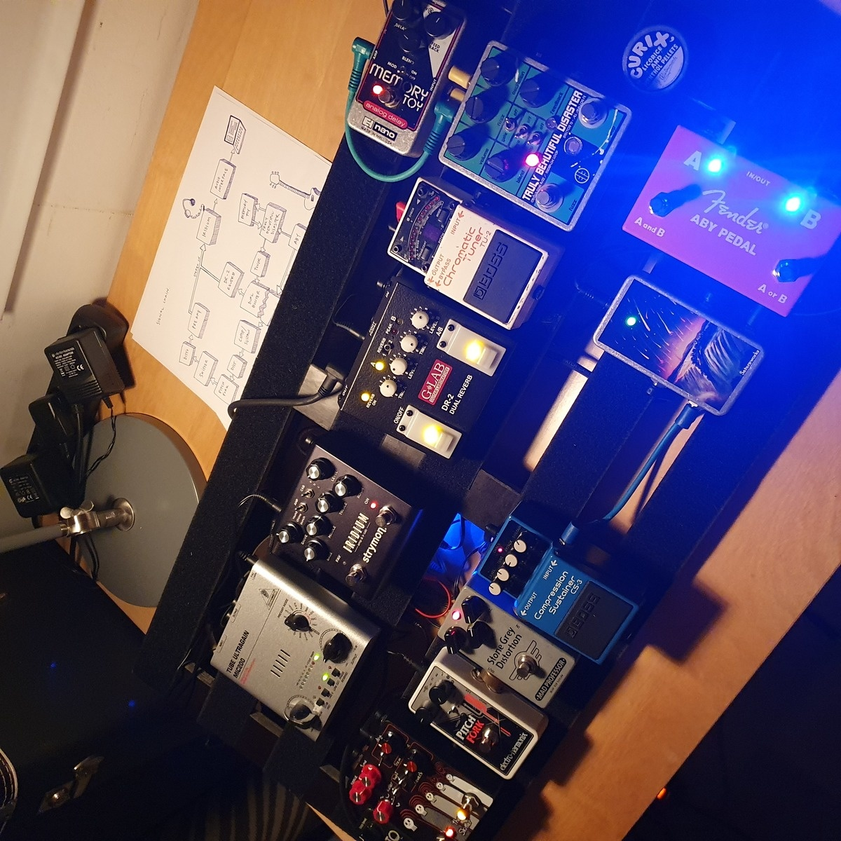 Photo of Boss CS-3 Compression Sustainer and more gear