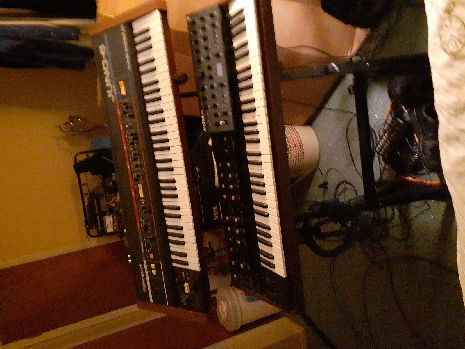 Photo of Korg PolySix and more gear
