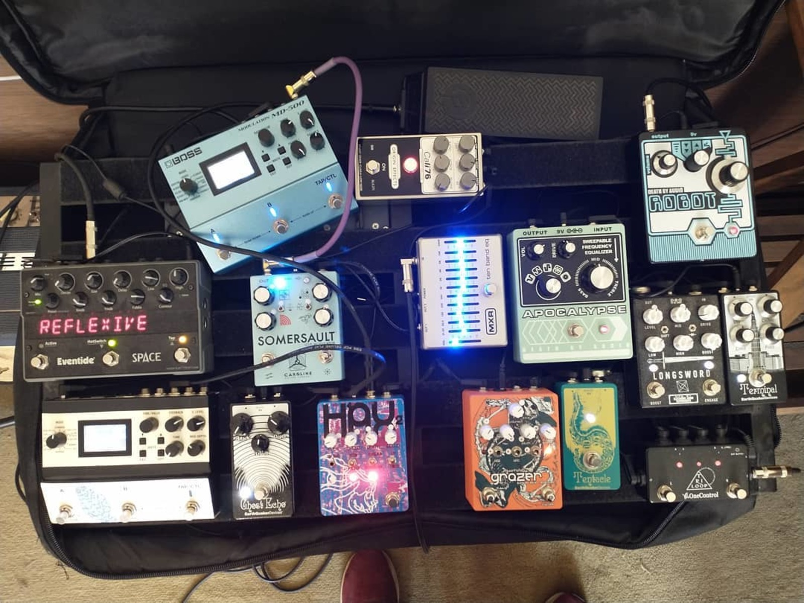 Photo of Eventide Space and more gear