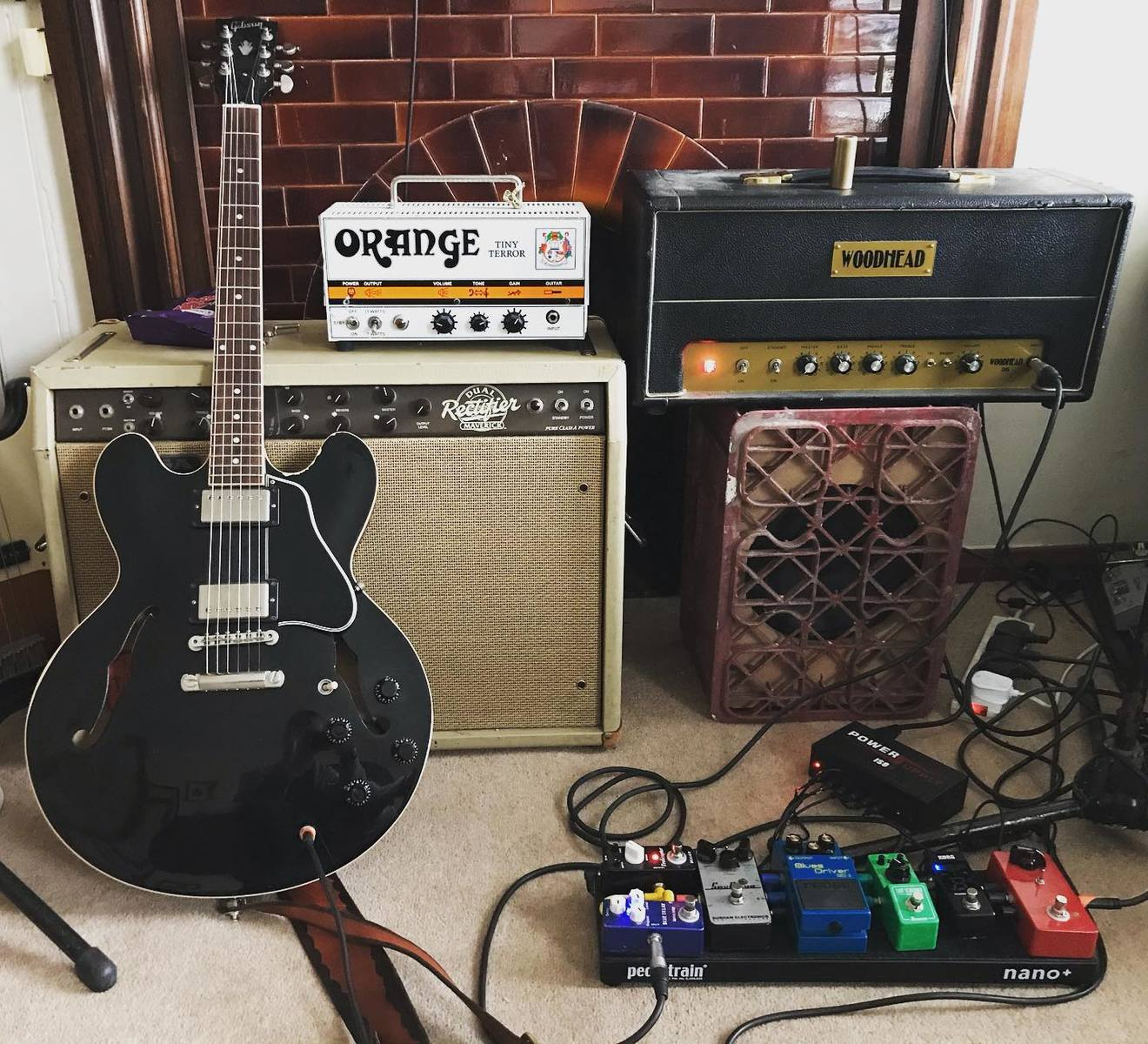Photo of Gibson ES-335 Electric Guitar and more gear