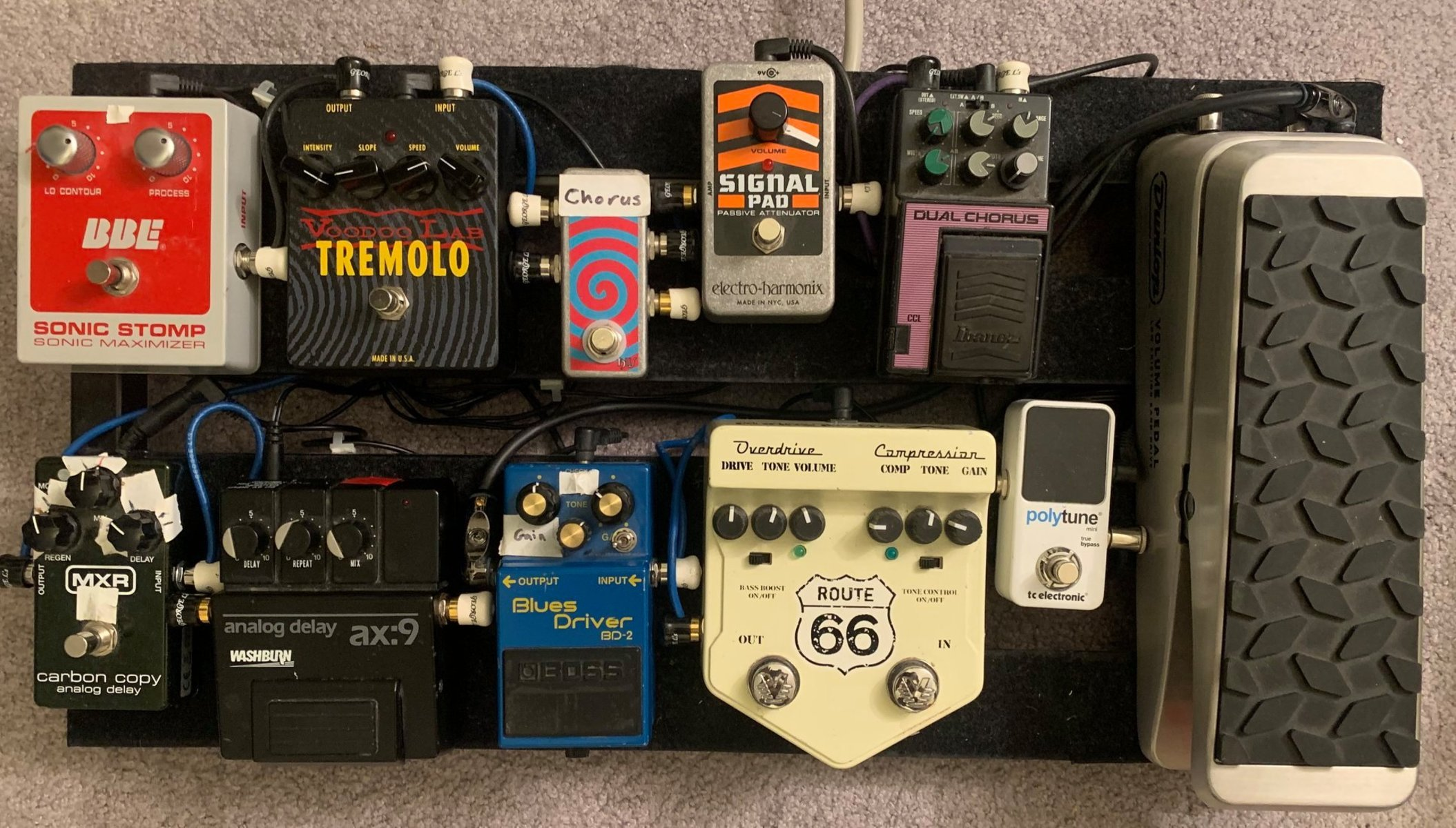 Photo of Dunlop DVP1 Volume Pedal and more gear