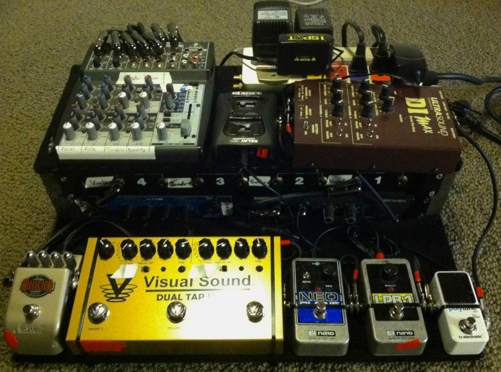 Photo of Electro-Harmonix LPB-1 Linear Power Booster Nano and more gear
