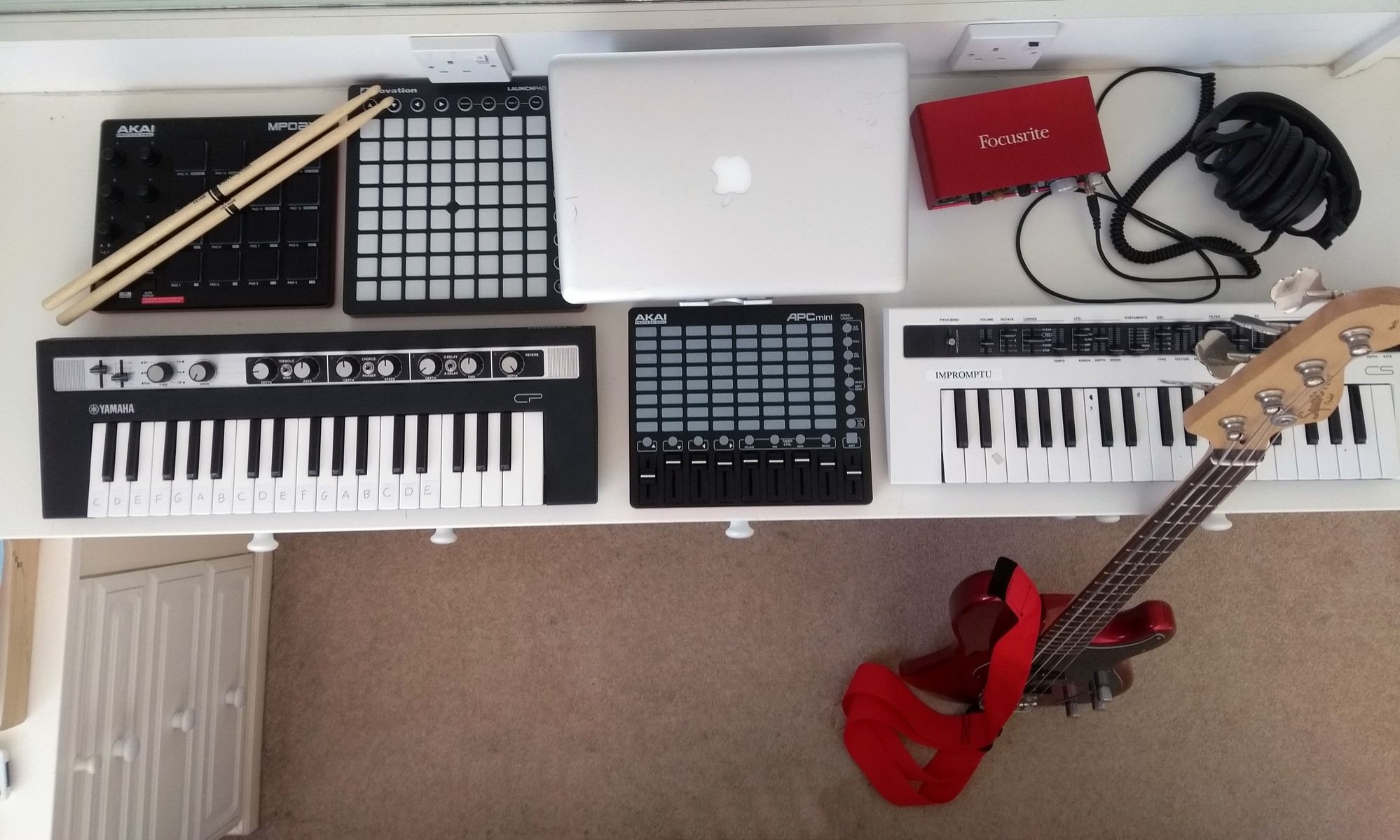 Photo of Yamaha reface CP and more gear