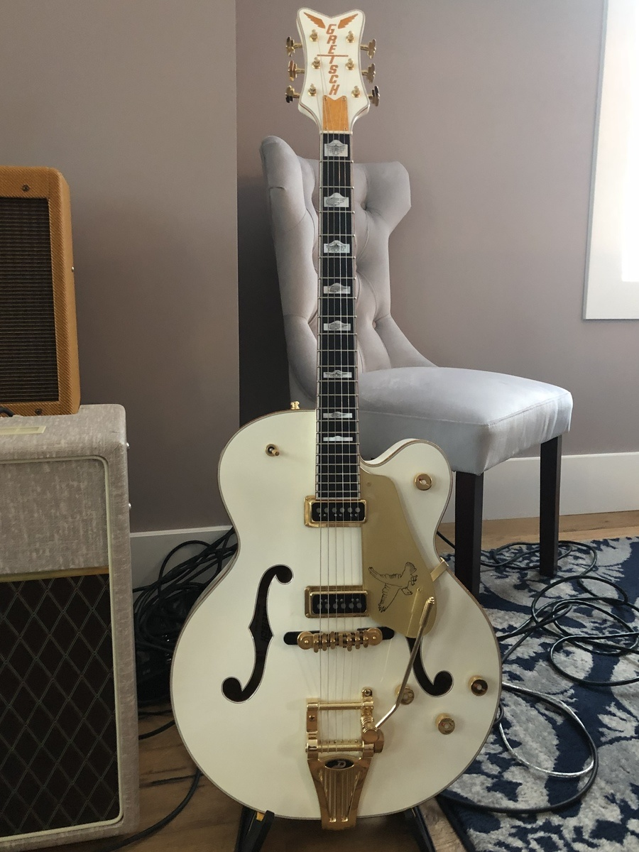 Photo of Gretsch White Falcon Electric Guitar