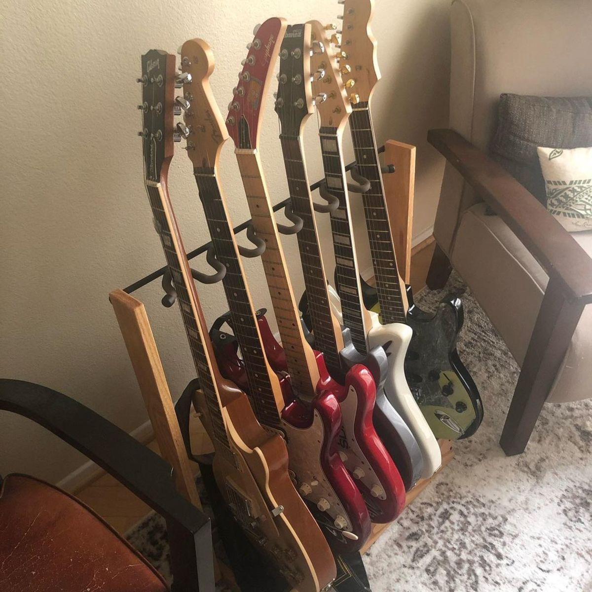 Photo of Gibson Les Paul Standard Electric Guitar and more gear