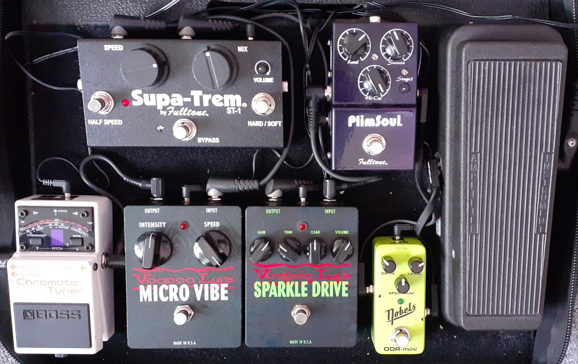 Photo of Voodoo Lab Micro Vibe and more gear