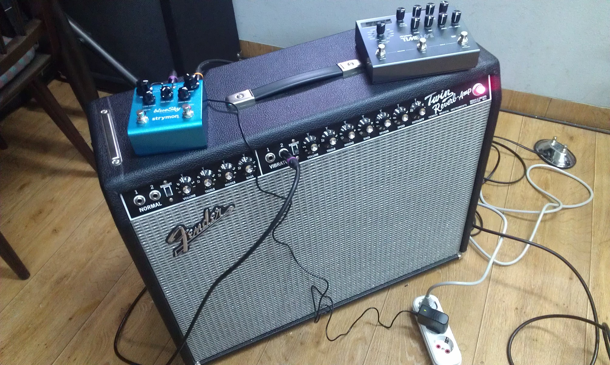 Photo of Fender  '65 Twin Reverb and more gear
