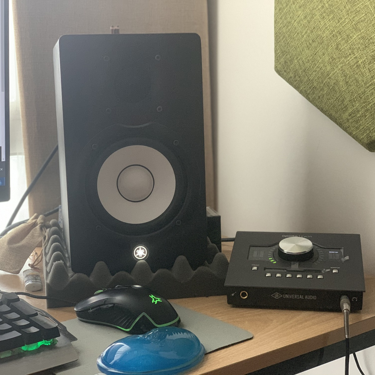 Photo of Yamaha HS5 Powered Studio Monitor and more gear