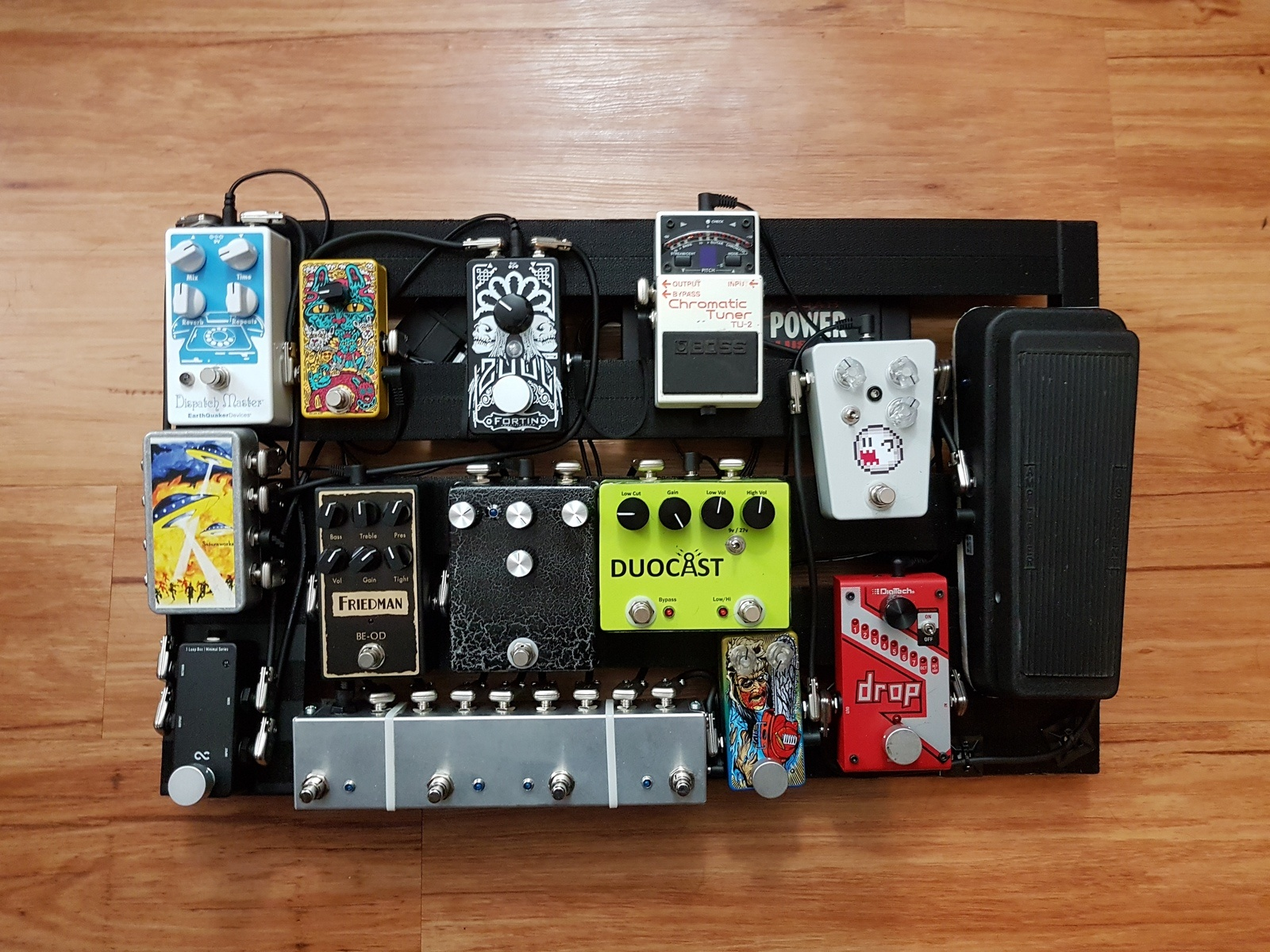 Photo of DigiTech Drop Polyphonic Drop Tune Pedal and more gear