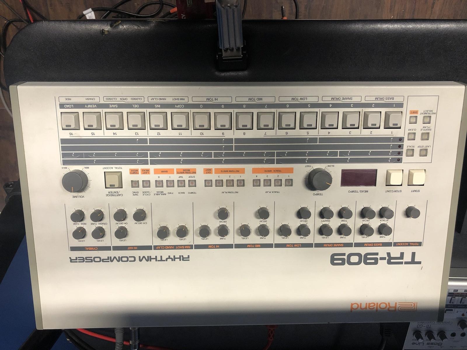 Photo of Roland TR-909 Rhythm Composer