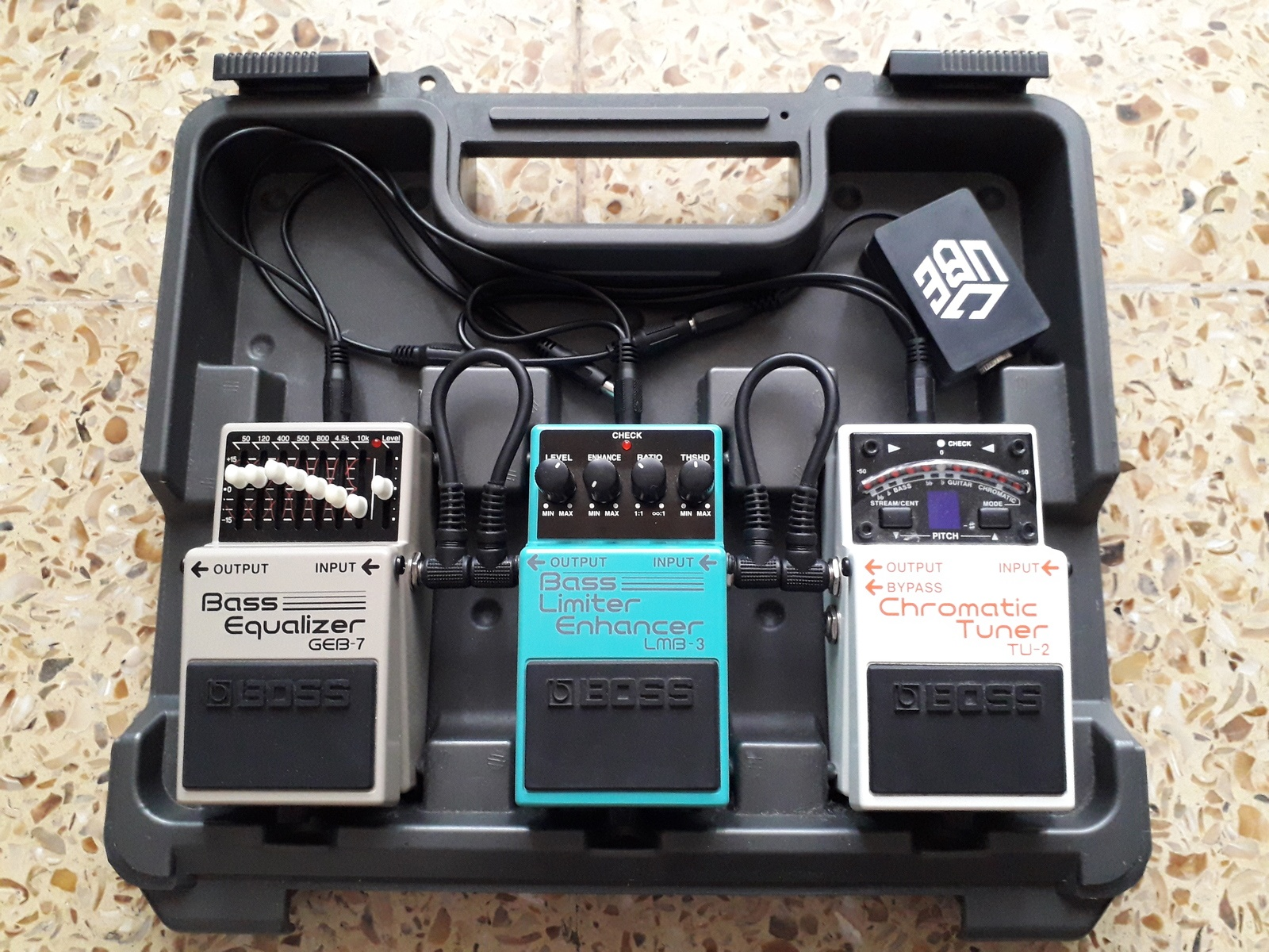 Photo of Boss GEB-7 Bass Equalizer and more gear