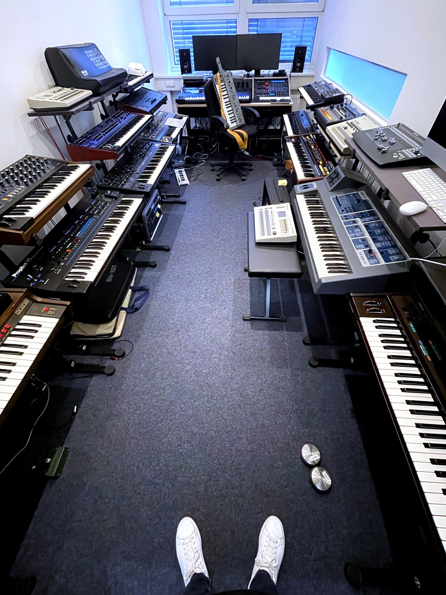 Photo of Oberheim Xpander and more gear