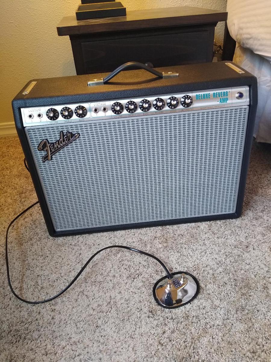 Photo of Fender '68 Custom Deluxe Reverb Guitar Amplifier