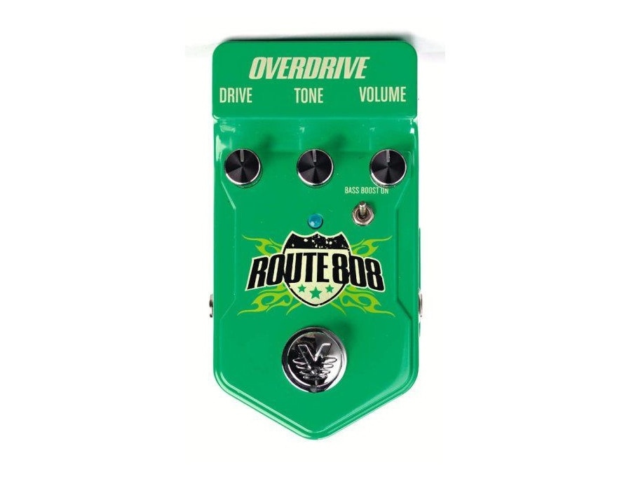 Visual Sound Route 808 Overdrive Guitar Effects Pedal