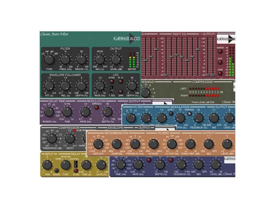 Kjaerhus Audio Classic Plugins