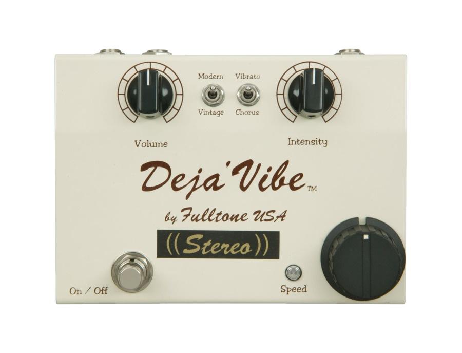 Fulltone mini dejavibe stereo chorus guitar effects pedal xl