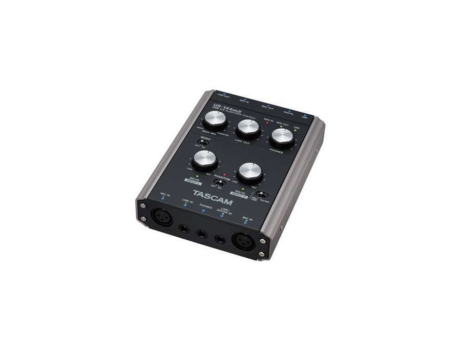 Tascam us 144 mkii usb audio interface xl