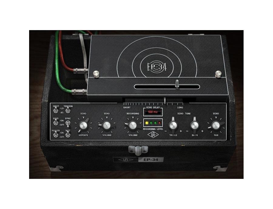 Universal audio uad ep 34 tape echo plugin xl