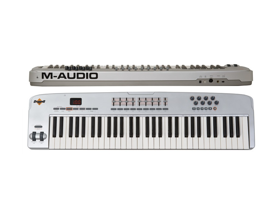 M audio oxygen 61 v2 usb midi keyboard xl