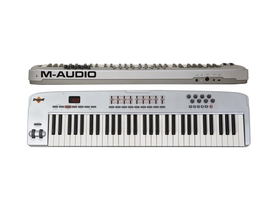 M audio oxygen 61 v2 usb midi keyboard xl