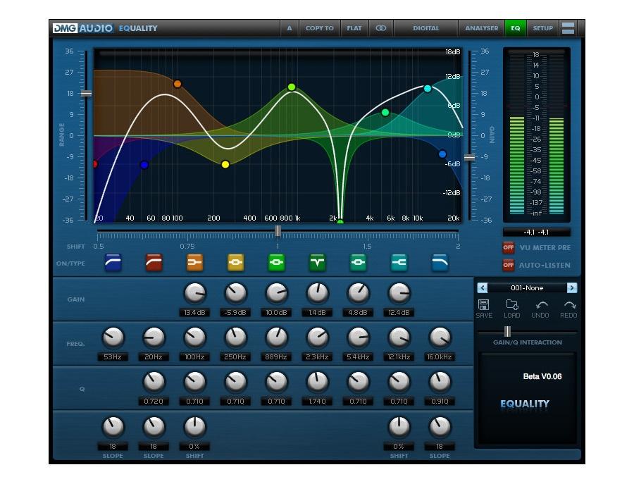 Dmg audio equality equalizer plugin xl