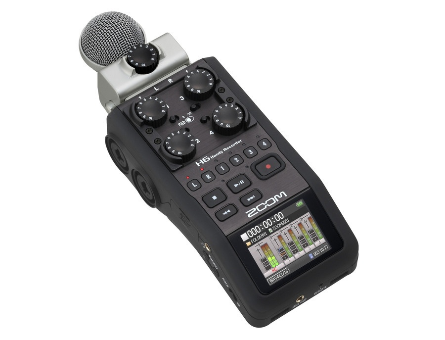 Zoom h6 portable recorder xl