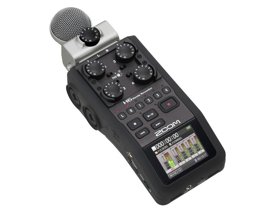 Zoom H6 Portable Recorder