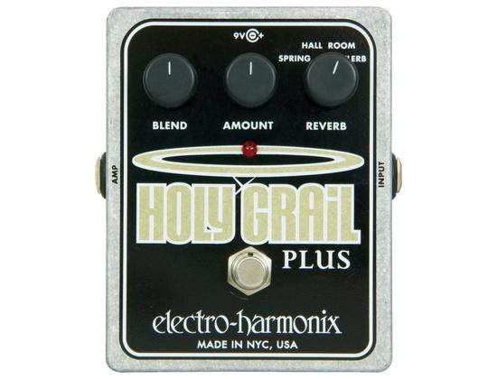 Electro-Harmonix XO Holy Grail Plus Variable Reverb Guitar Effects Pedal
