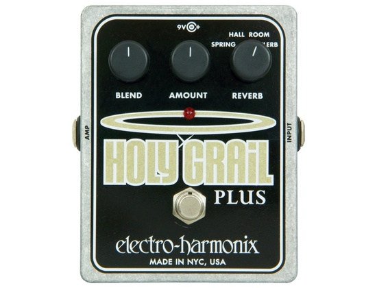 Electro-Harmonix XO Holy Grail Plus Variable Reverb Guitar Effects Pedal