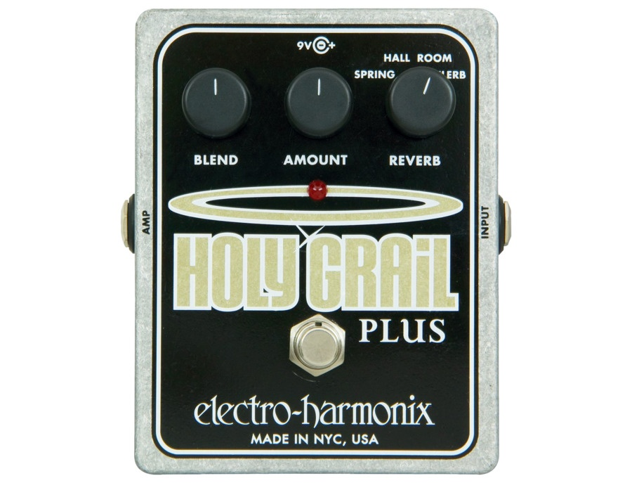 Electro harmonix xo holy grail plus variable reverb guitar effects pedal xl