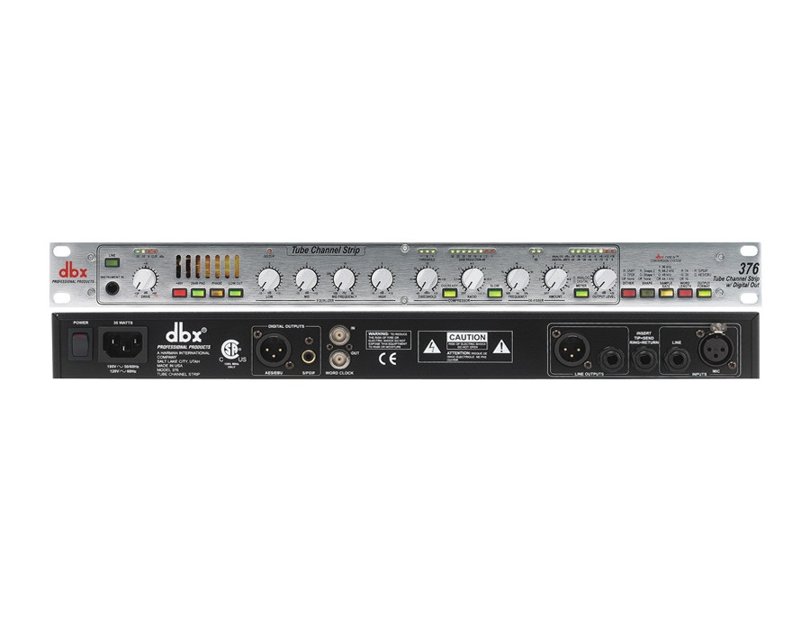 dbx 376 - Tube Channel Strip w/Digital Out