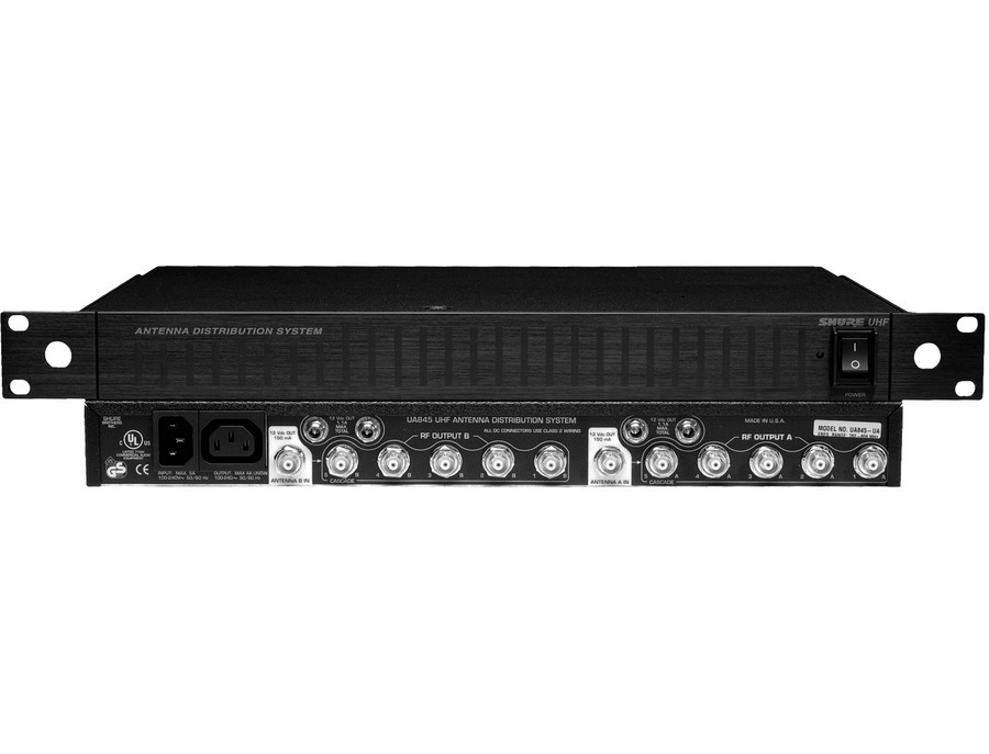 shure ua845 uhf antenna distribution system reviews prices equipboard. Black Bedroom Furniture Sets. Home Design Ideas